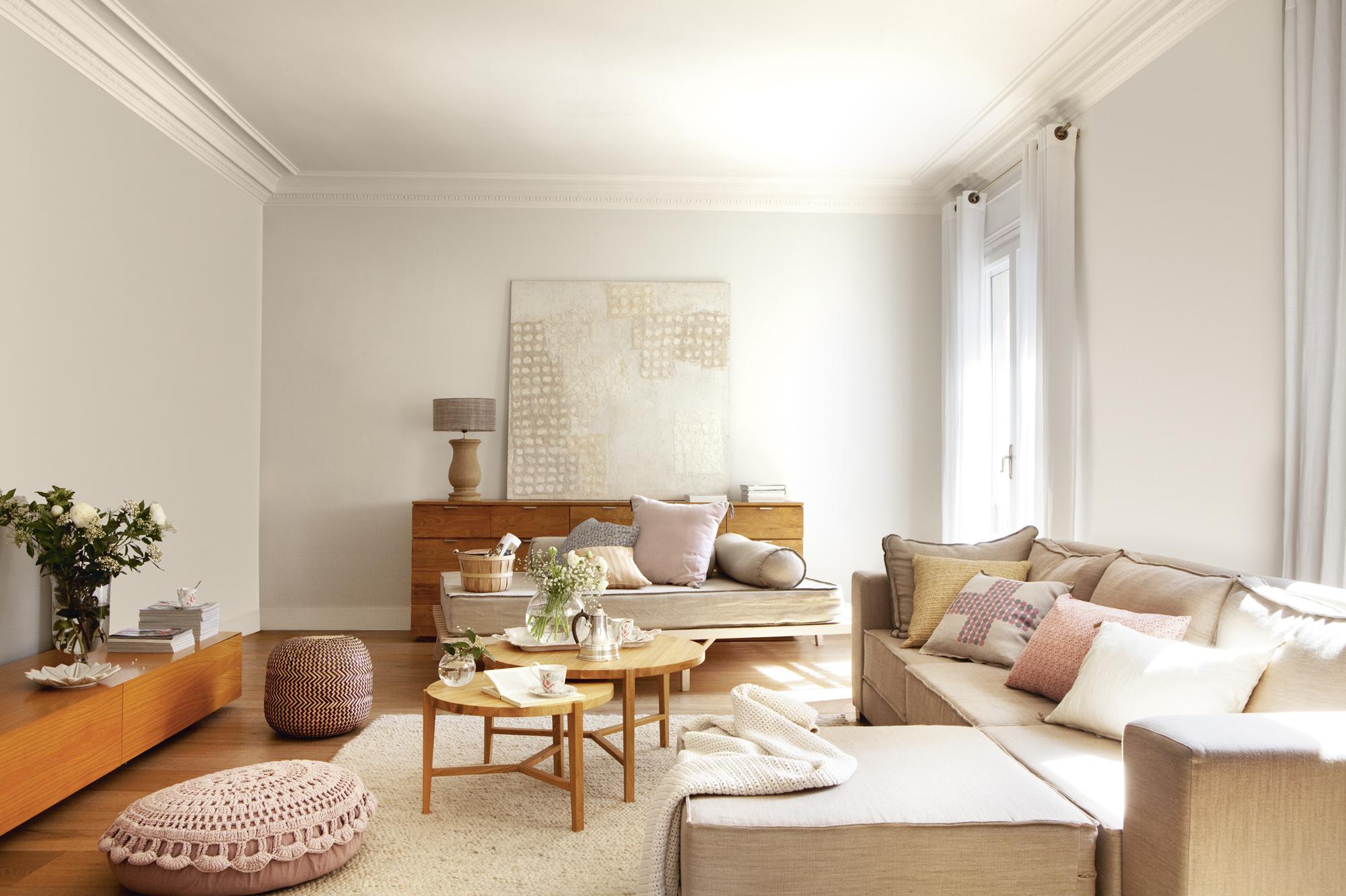 Revista El Mueble Salones J7do Cambiar El Salà N solo Con La Pintura