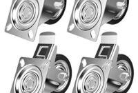 Ruedas Industriales Para Muebles 4pde Yaheetech 4 Piezas Ruedas Industriales Ruedas Para Muebles 75mm