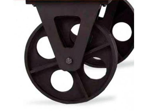 Ruedas Industriales Para Muebles Qwdq Muebles Estilo Vintage E Industrial Ruedas De Diseà O O Tradicional