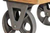 Ruedas Industriales Para Muebles U3dh Mesa Con Ruedas Industrial Te Imaginas