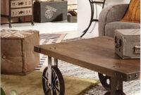Ruedas Industriales Para Muebles Wddj Mesas Vintage Con Ruedas De Carro 7 De Anitas
