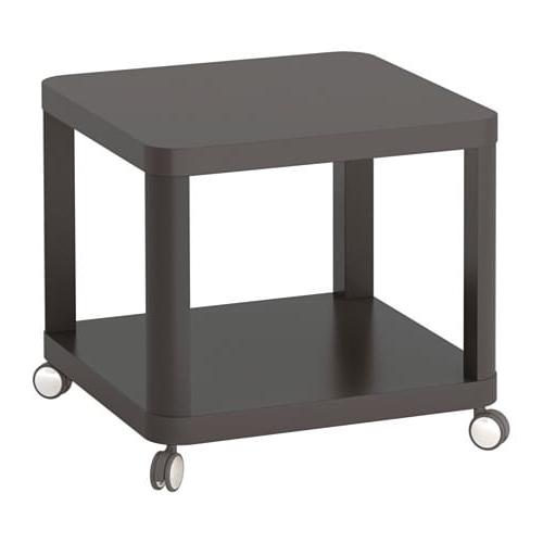 Ruedas Mesa Thdr Tingby Mesa Auxiliar Con Ruedas Gris 50 X 50 Cm Ikea