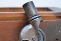 Ruedas Para Muebles Vintage 4pde Lote De 4 Antiguas Ruedas Para Muebles De 5cm Prar En