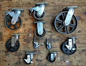 Ruedas Para Muebles Vintage Tldn Industrial Muebles Metal Ruedas Con Hierro forjado Ruedecita Vintage