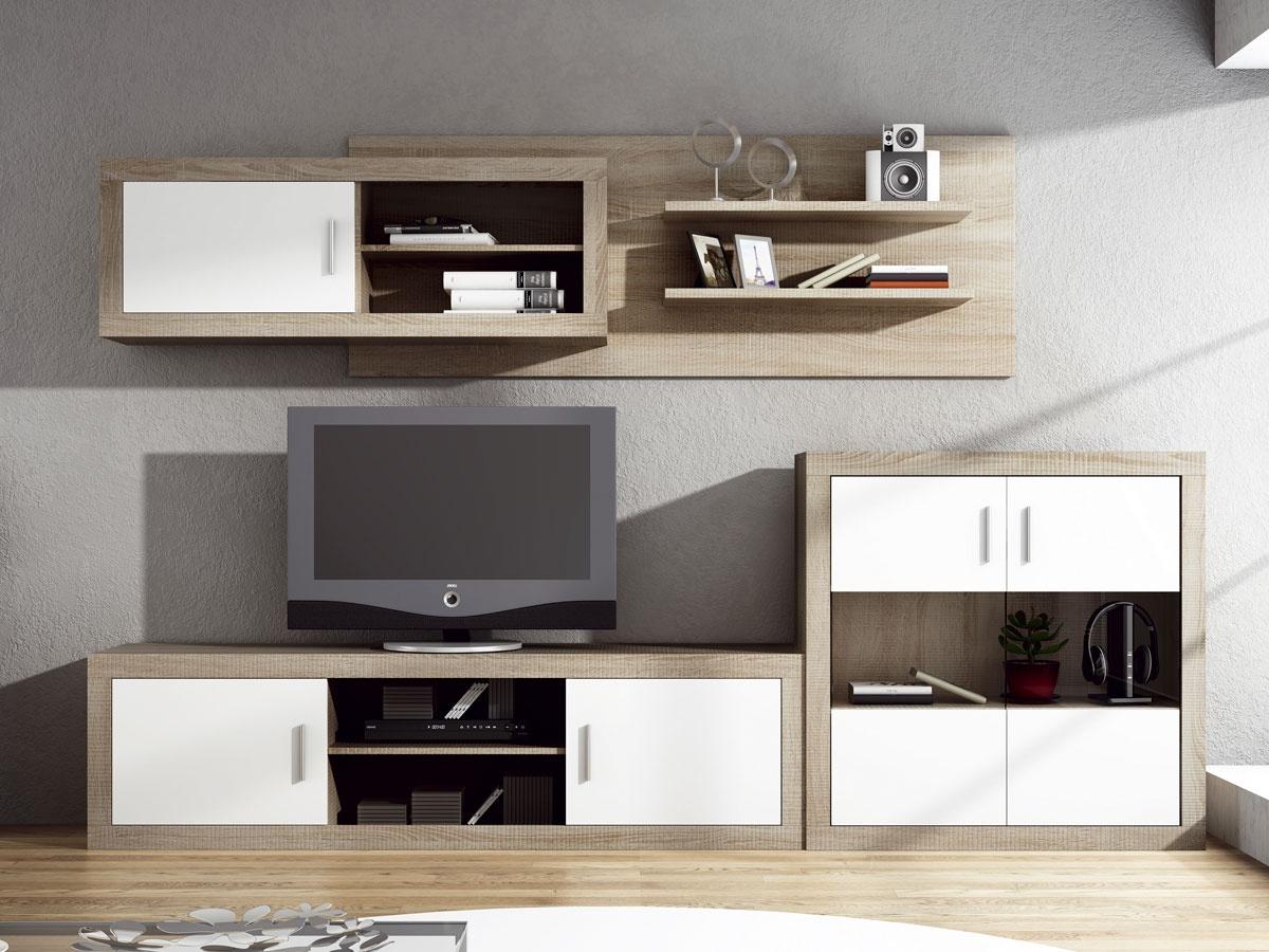 Salon Muebles Nkde Mueble Apilable De Edor Moderno Bajo Con Cuatro Puertas