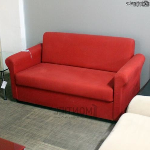 Segunda Mano sofas Txdf sofà De Oficina En Color Rojo Segunda Mano