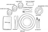 Servicio De Mesa 87dx Tips Para Servicio De Mesa Chef Cubiro
