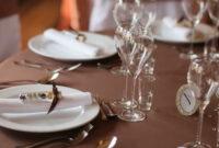 Servicio De Mesa 8ydm Servicio Mesa De Boda Exquisito Mesa Servida Para El Banquete De