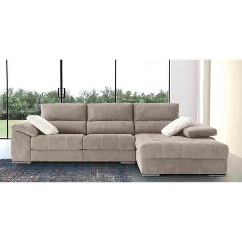 Shiade sofas 8ydm sofà De 3 Plazas Valeria Con 2 Relax Elà Ctricos Y Chaiselongue