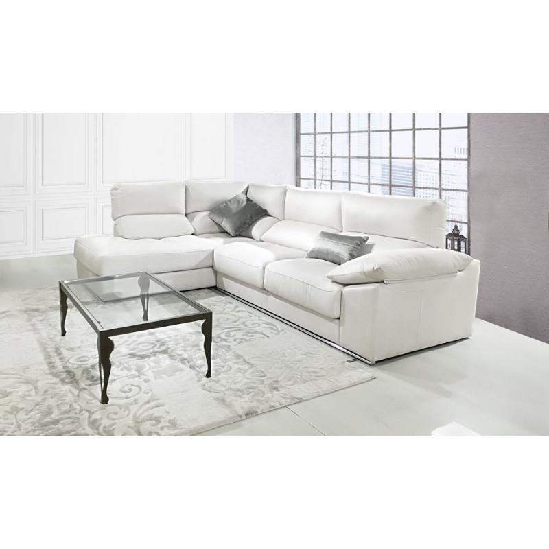Shiade sofas Fmdf sofà Irati De 2 90 M De 3 Plazas De asientos Deslizantes Y Chaiselongue