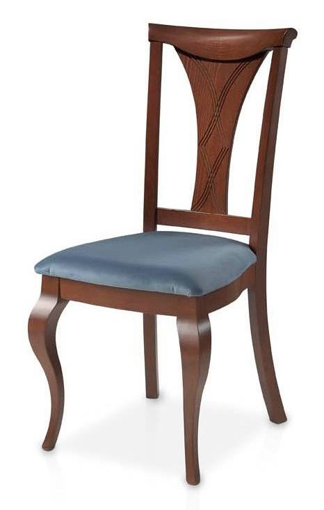Silla Clasica Ftd8 Silla Estilo Clà Sico Con asiento Tapizado Para Mesas De Edor Clà Sicas
