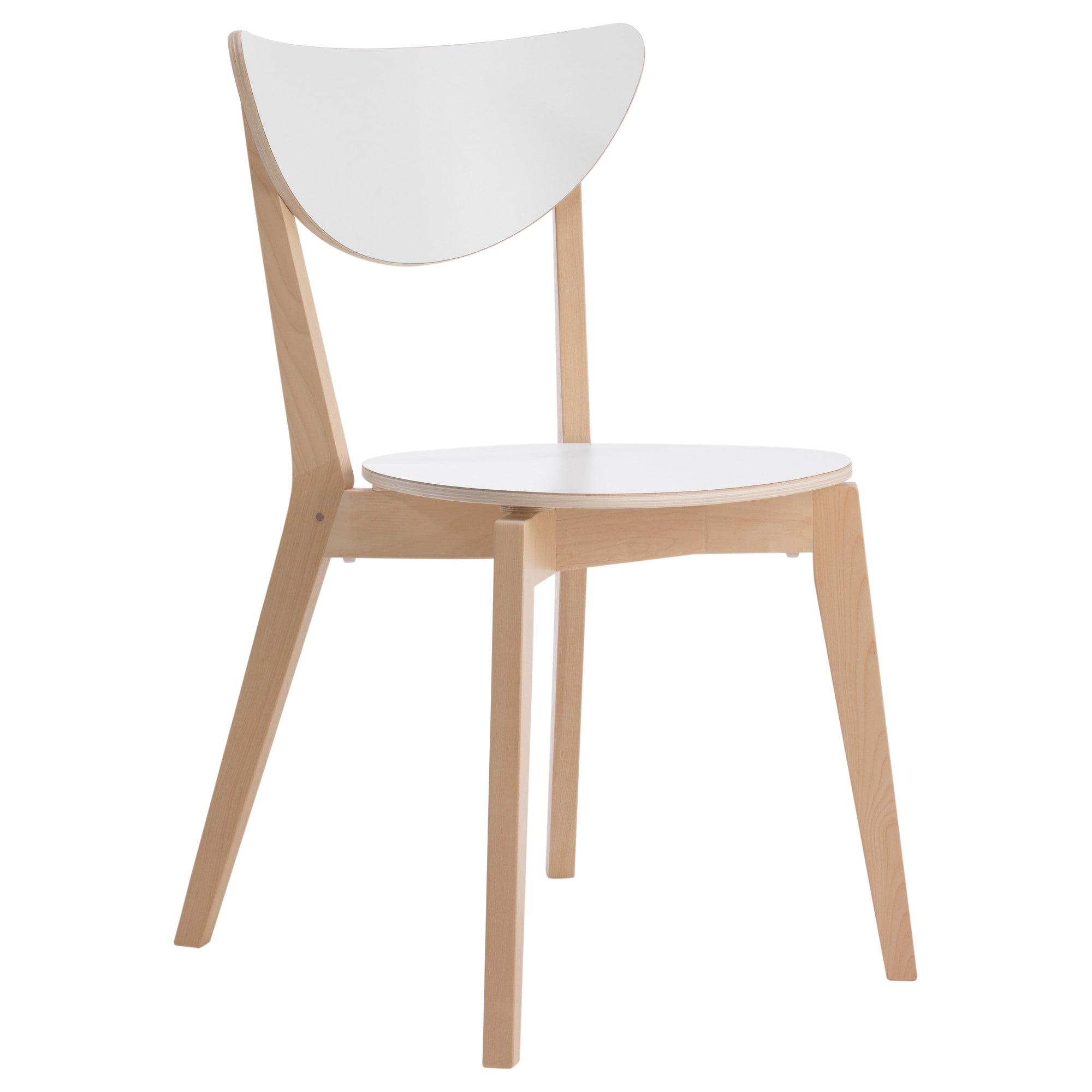 Silla Cocina Ikea 9ddf nordmyra Silla Blanco Abedul Ikea