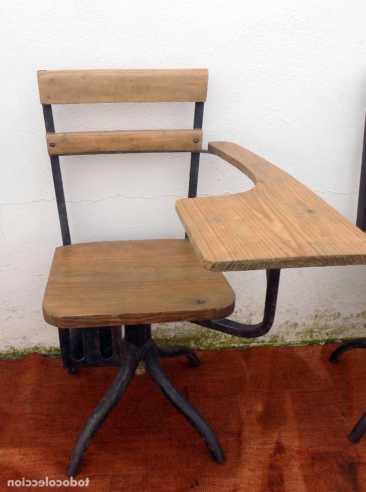 Silla Colegio 8ydm Antigua Silla Colegio Vintage Adulto Limpia Prar Sillas