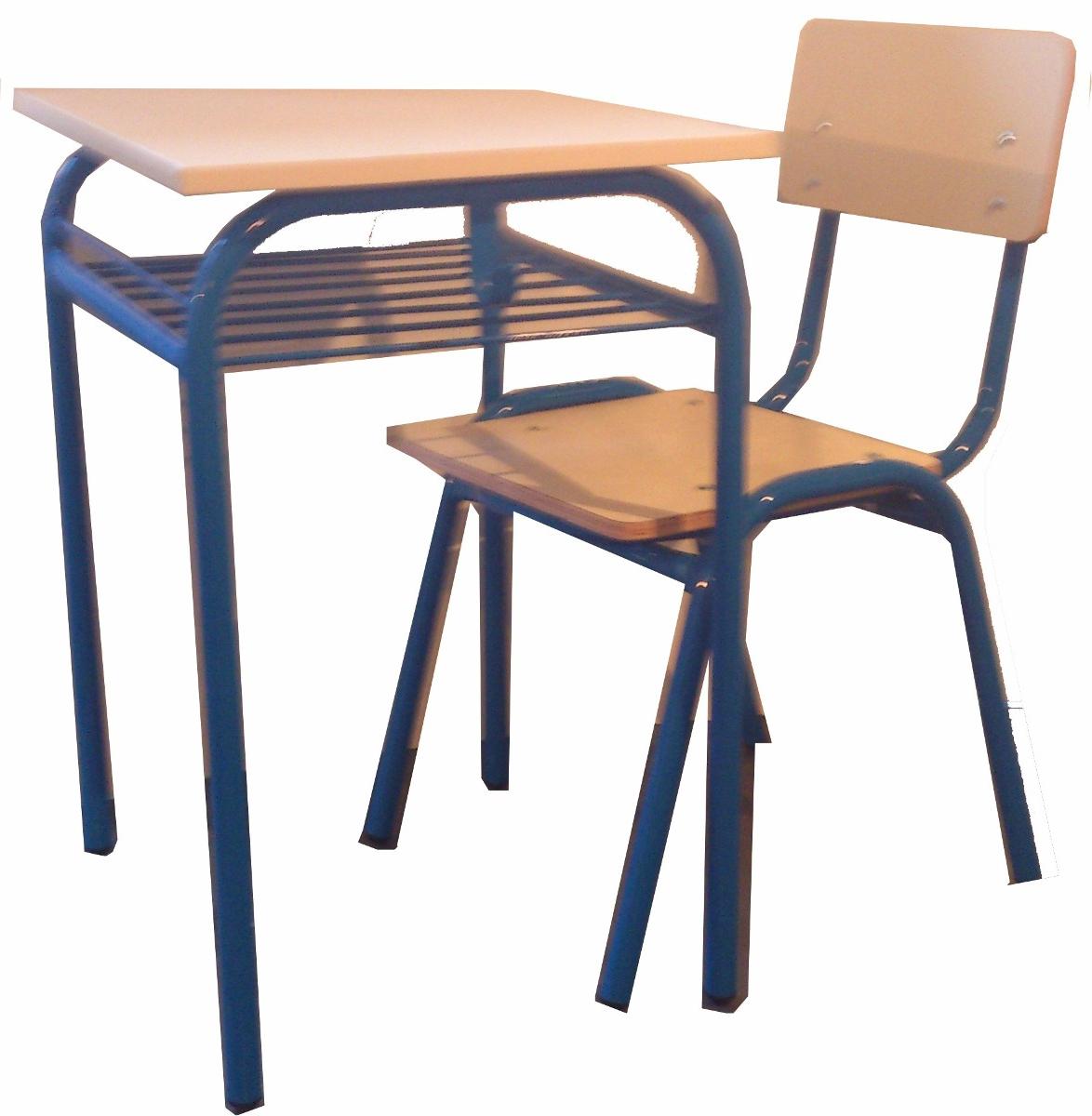 Silla Colegio E6d5 Juego Silla Y Mesa Pupitre Premium Colegio Universidad 3 150 00