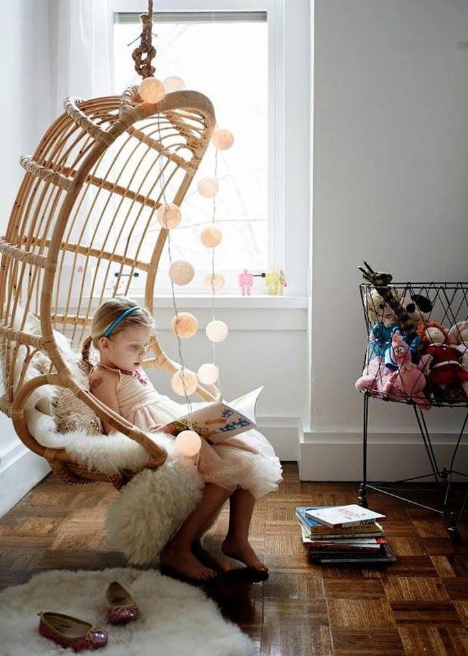 Silla Colgante Mimbre Nkde El Apartamento Hipster Ideal Kids Room Pinterest Sillas