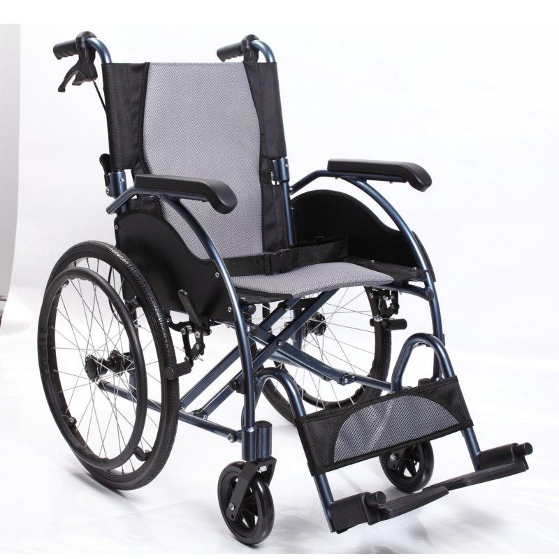 Silla De Ruedas Aluminio Zwdg Silla De Ruedas De Aluminio Autopropulsable Plegable asister