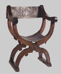 Silla De Tijera Rldj Muebles Estilo Renacimiento Italiano