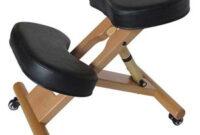 Silla Ergonomica Ikea 9fdy Silla Ergonà Mica Rodillas asiento Acolchado Mà Vil De Madera Ajustable Y Resto De Rodilla Negro