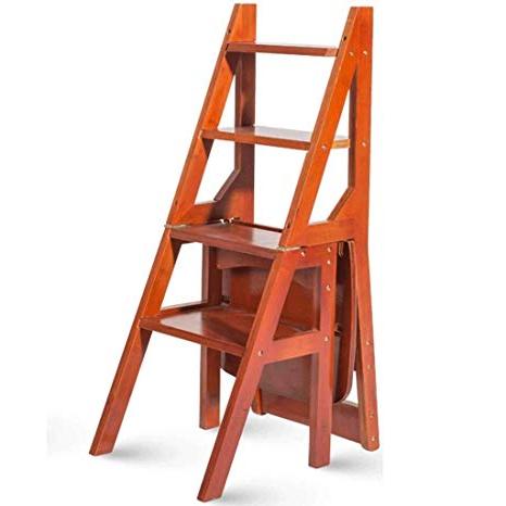 Silla Escalera Ikea Thdr Xmuei Escalera Multifuncià N Taburete Hogar Madera Maciza