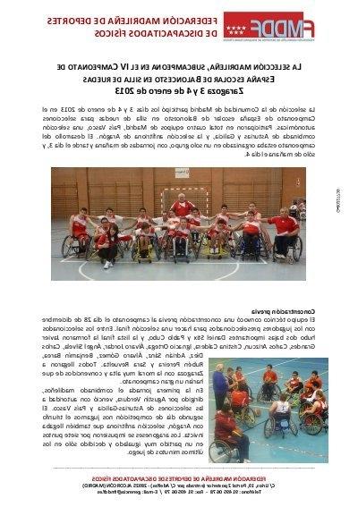 Silla España Drdp Memoria Cto España Bsr De Selecciones Autonómicas En Edad