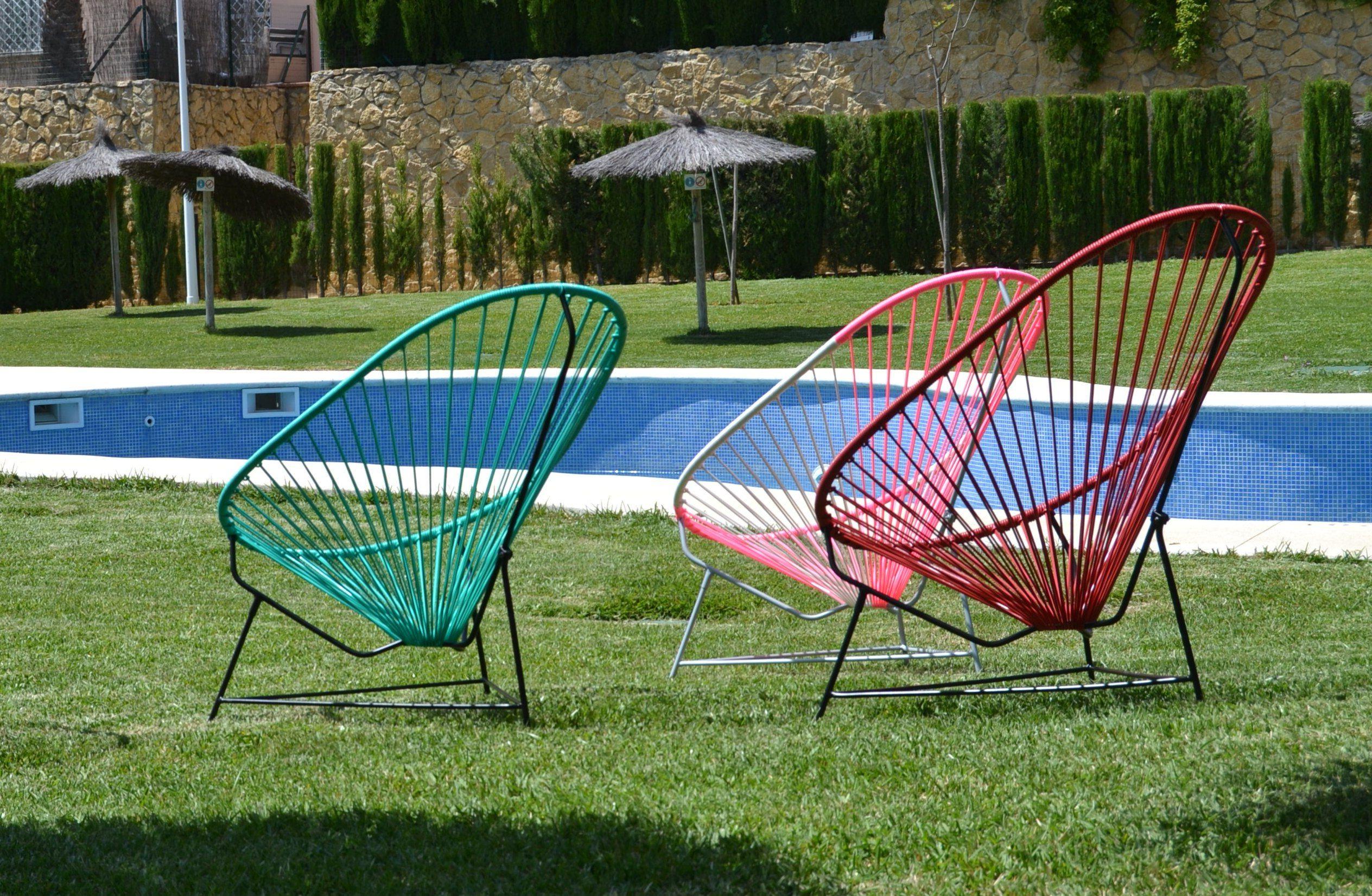 Silla España Gdd0 Sillas Acapulco In A Garden
