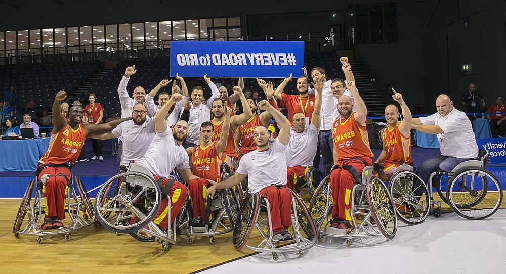 Silla España J7do Baloncesto La Seleccià N Masculina De Baloncesto En Silla De Ruedas