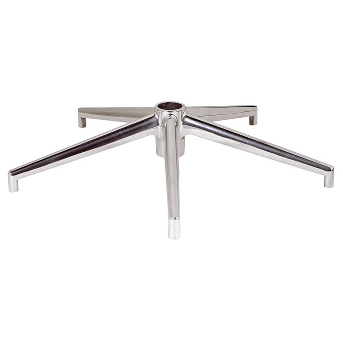 Silla Giratoria Sin Ruedas Tldn Base Aluminio Para Silla Giratoria De Oficina O Escritorio De 65 Cm