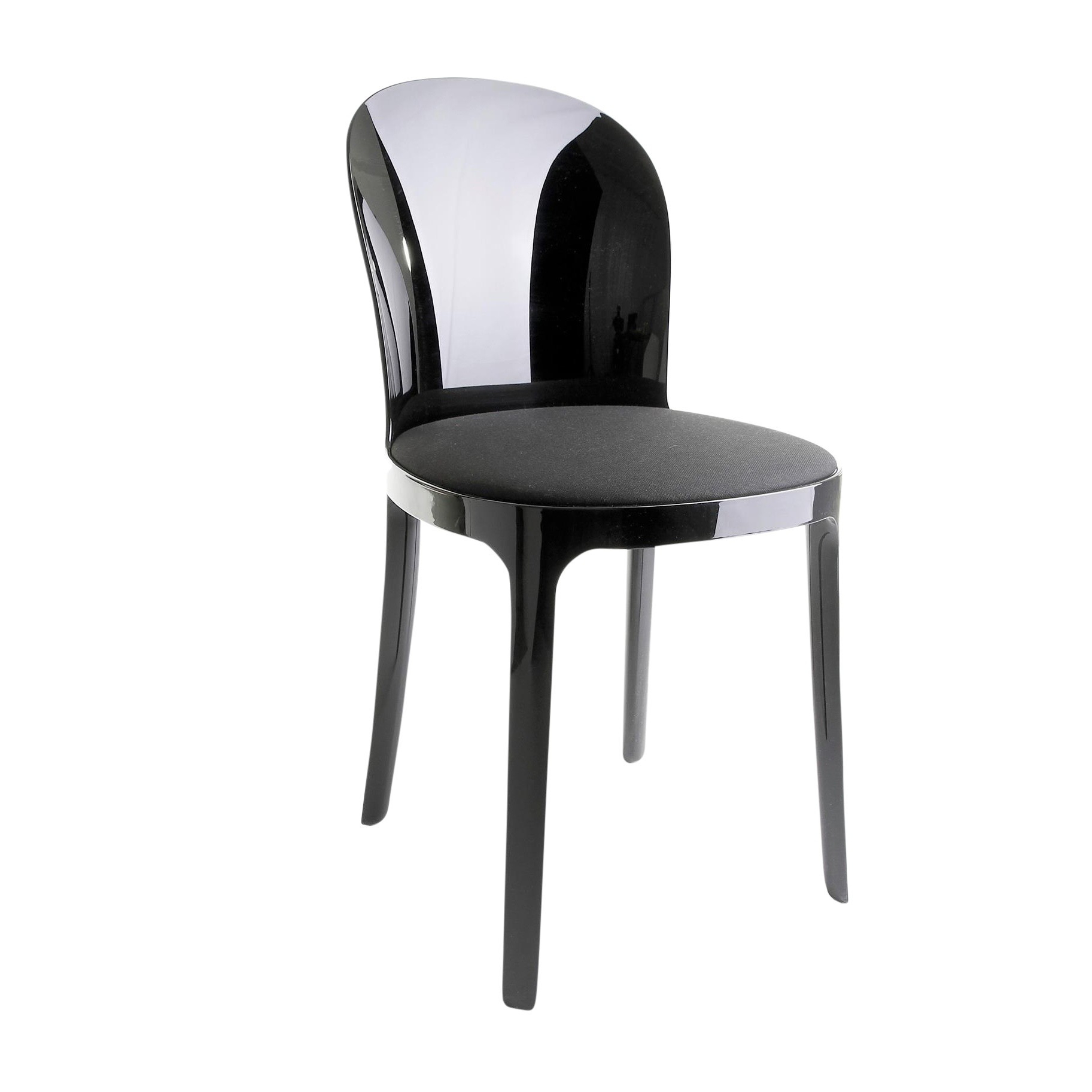 Silla Negra S5d8 Magis Vanity Chair Silla Negra Ambientedirect