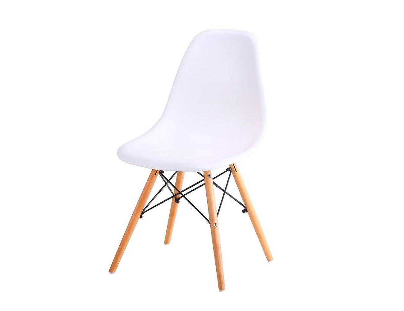 Silla nordica Blanca Ftd8 Juego De Sillas Con asiento De Resina En Color Blanco Tipo nordica