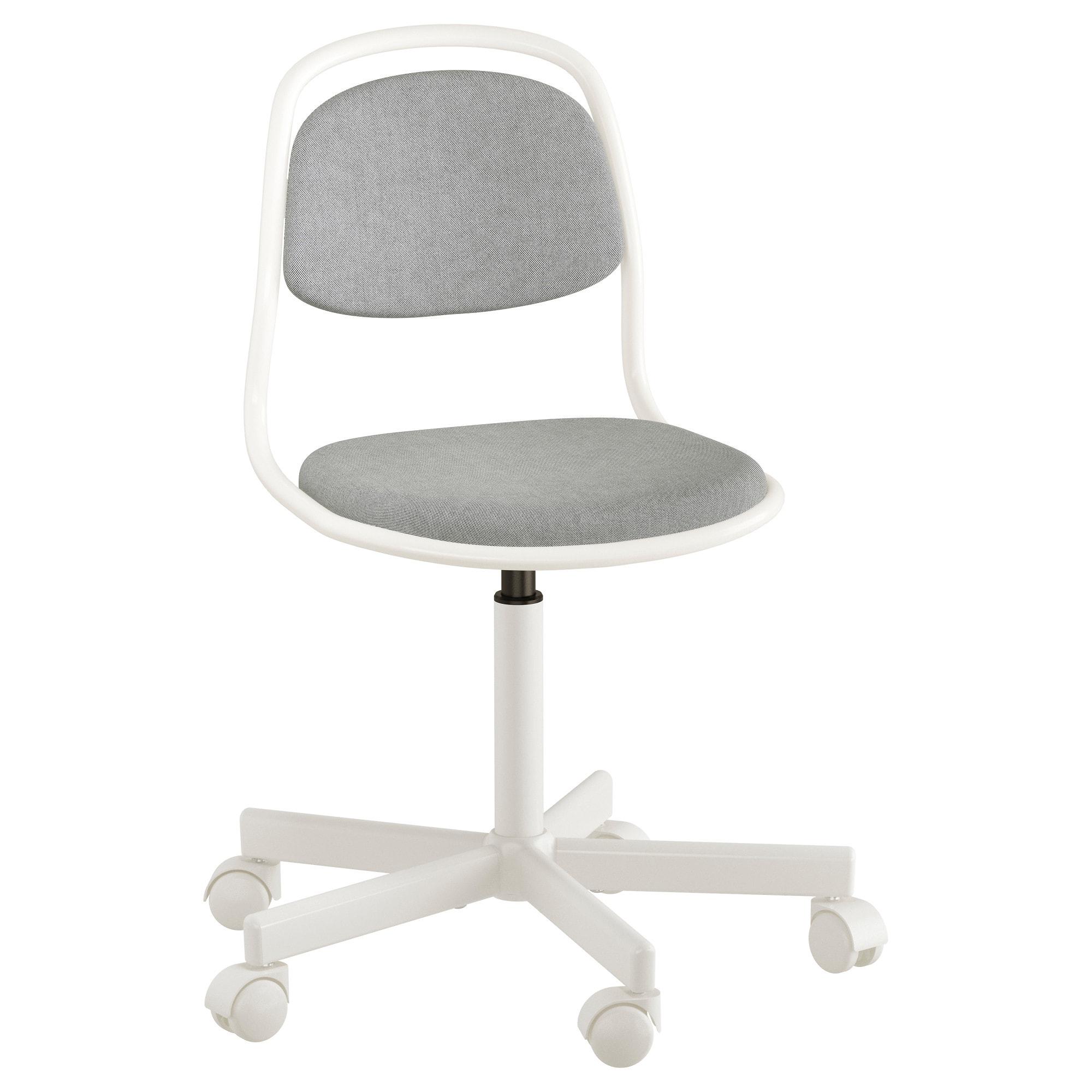 Silla Oficina Diseño Ipdd à Rfjà Ll Silla Escritorio Nià O Blanco Vissle Gris Claro Ikea