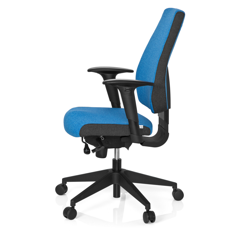 Silla Oficina Ergonomica 0gdr Silla De Oficina Ergonà Mica Ajustable Detroit Azul Silla Oficina