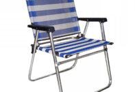Silla Plegable Playa Txdf Silla Plegable De Playa Azul De Aluminio Para Camping A Home