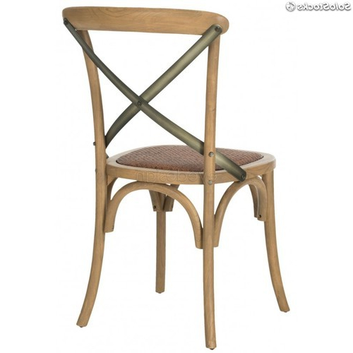 Silla Thonet 87dx Silla Thonet Nº 91 Cross Roble Hierro
