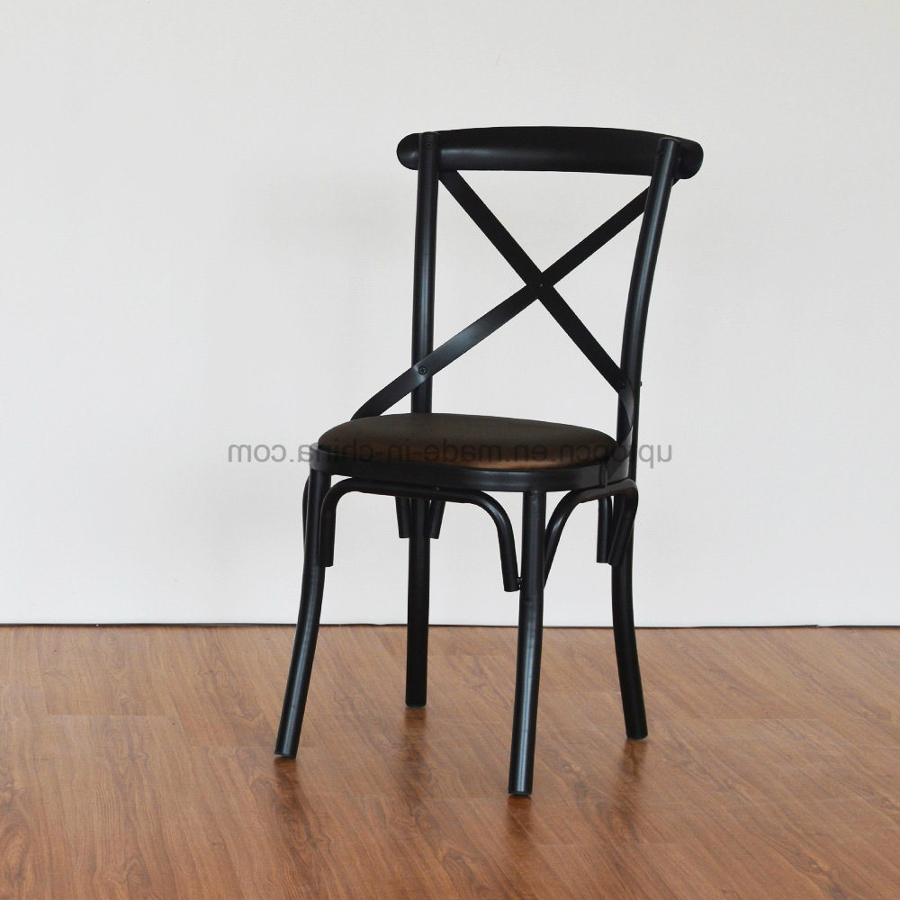 Silla Thonet Etdg Hot Item Vintage X Back Metal Silla Thonet Chair Sp Mc080