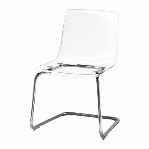 Silla tobias Ikea 87dx Sillas Transparentes Ikea Inspirador tobias Chair Transparent Chrome