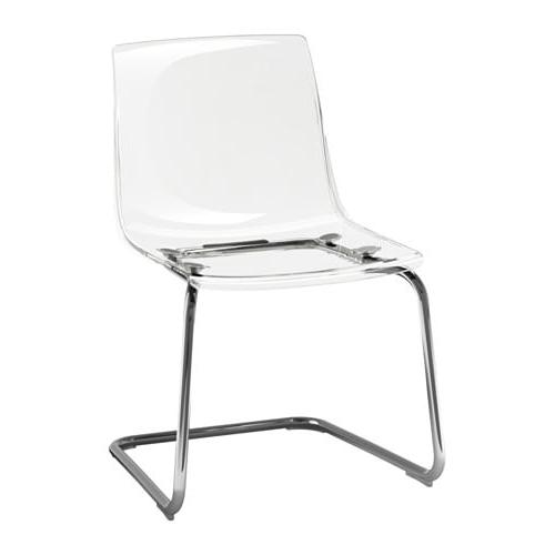 Silla tobias Ikea Q0d4 tobias Silla Transparente Cromado Ikea