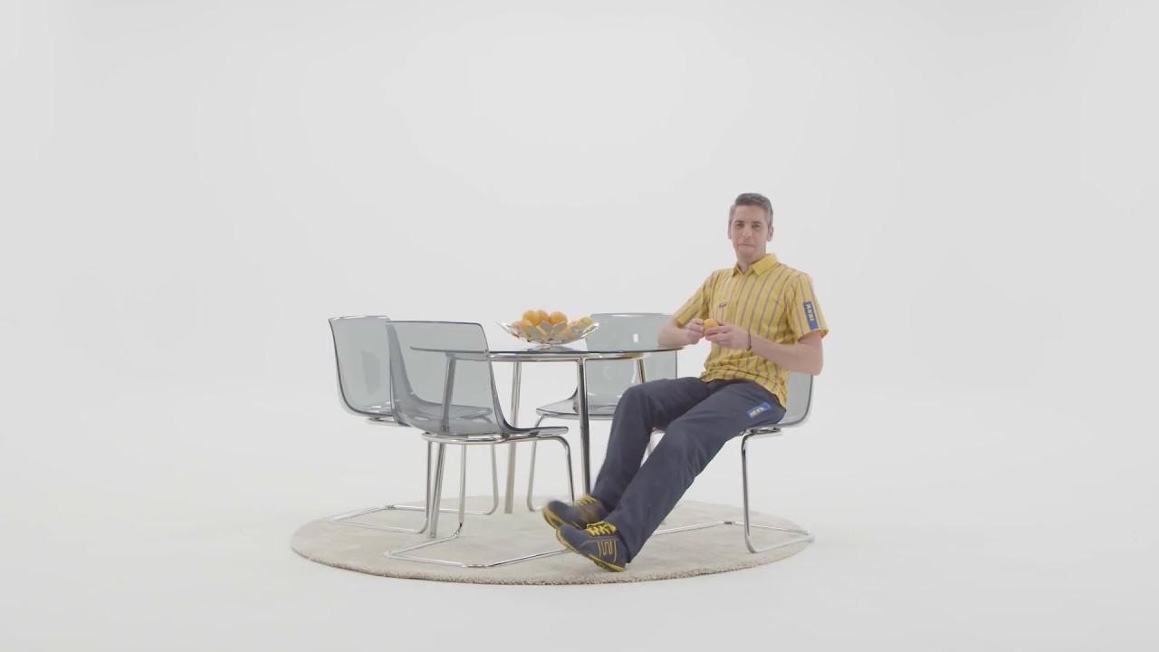 Silla tobias Ikea T8dj Instrucciones De Montaje De La Silla tobias Ikea Youtube