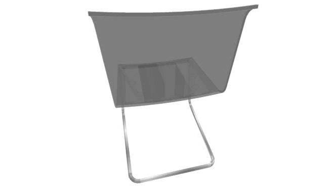 Silla tobias Ikea Zwd9 Ikea tobias Silla De Edor Transparente 3d Warehouse