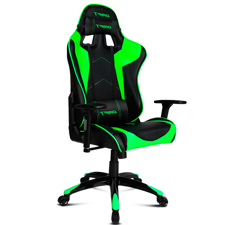 Silla Youtuber Txdf Chair Gaming Drift Dr300 Black Green Versus Gamers