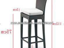 Sillas Altas 3ldq Wicker Barstool Outddor Rattan Furniture Bar Sillas Altas