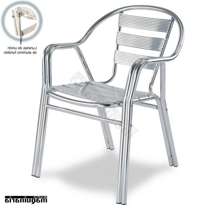 Sillas Aluminio Terraza Qwdq Silla Aluminio Terraza 2r94 Apilable Para Exteriores De Hosteleria