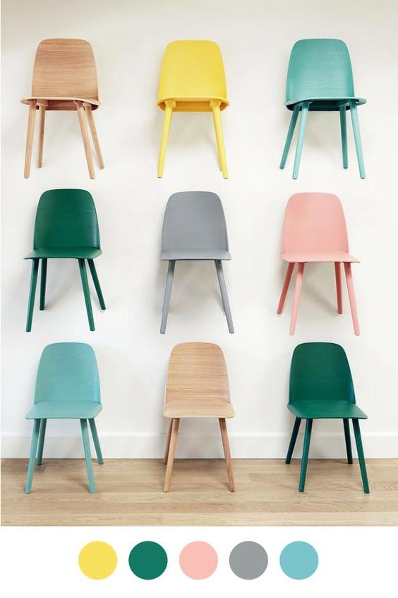 Sillas Colores Fmdf Sillas Pantone Color Trendef