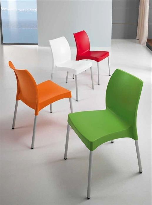 Sillas Colores T8dj Silla Randal Aluminio Polipropileno Nuevos Colores