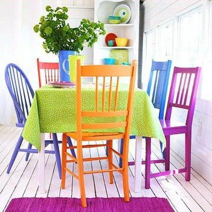 Sillas Colores Thdr Edores Con Sillas Diferentes Decoracià N De Interiores Y