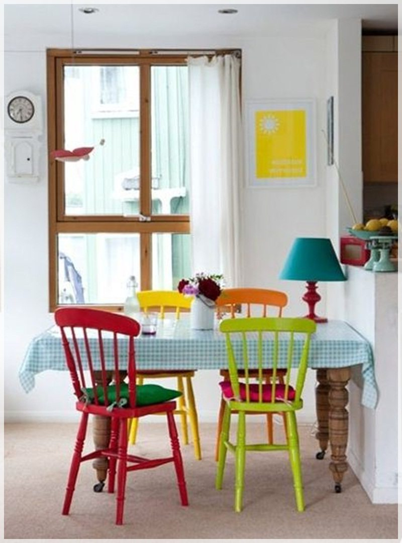 Sillas Colores X8d1 Decorar Con Sillas De Colores
