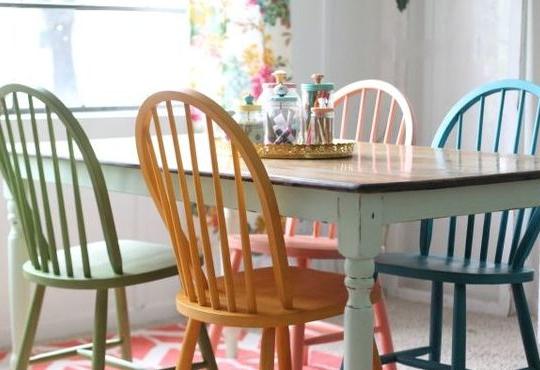 Sillas Colores X8d1 Sillas De Colores Para Un Edor Con Estilo Estilo Y