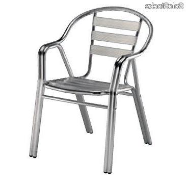 Sillas De Aluminio Para Terraza Y7du Silla De Aluminio Para