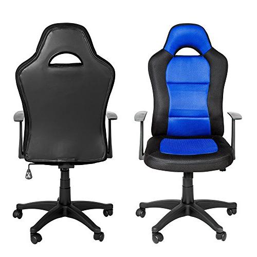 Sillas De Oficina Amazon Qwdq Tectake Silla De Oficina Silla Giratoria Racing Racer asiento