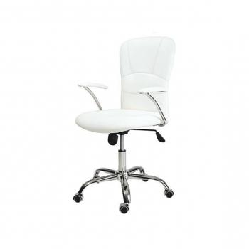 Wddj Carrefour De Oficina Mobiliario Blancas Sillas YEWIeD9H2