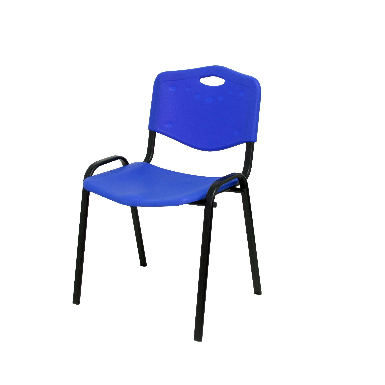 Sillas De Oficina Ofertas Ftd8 Pack De 4 Sillas Oficina Pvc Azul Ref 124 Pc Papeleria Segarra